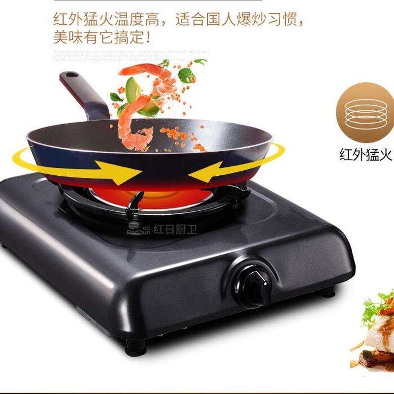 Image 4 - Gas Cooker Single Kitchen Stove Household Energy saving Liquid Gas Benchtop Single Gas Cooker Gas Stove 108dCooktops   -