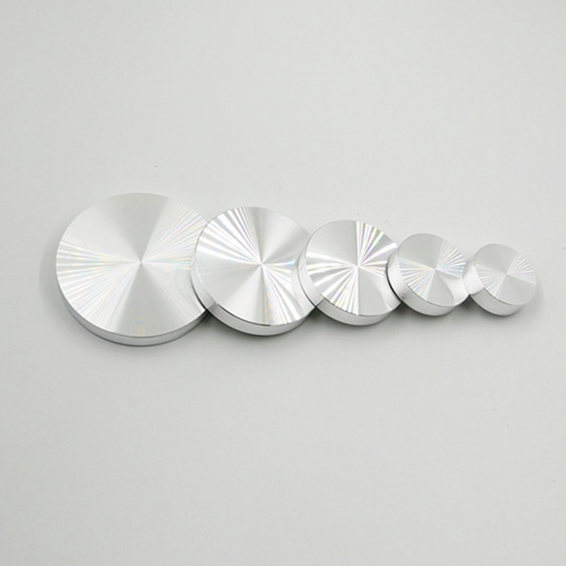 Best Offer 72b6 4pcs Lot 10mm Thick Solid Aluminum Circle Disc