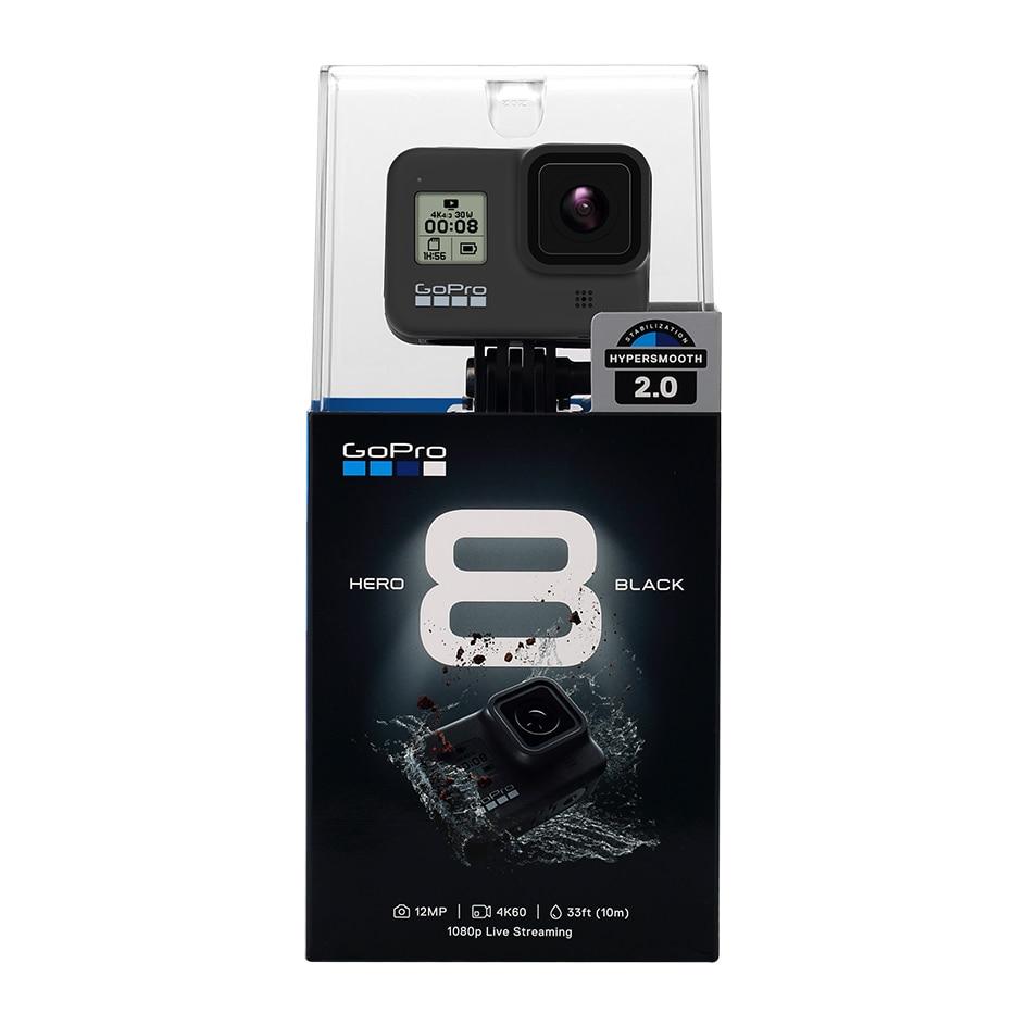 Original Gopro Hero 8 Black Waterproof Action Camera 4K Ultra HD Video 12MP Photos 1080p Live Streaming Go Pro Hero8 Sports Cam 6