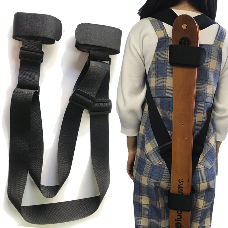 Ski Bandage Cloth Velcro Hand Shoulder Strap Skis Fixing Band Bound Binding Belt Self Adhesive Tape Shoulder image