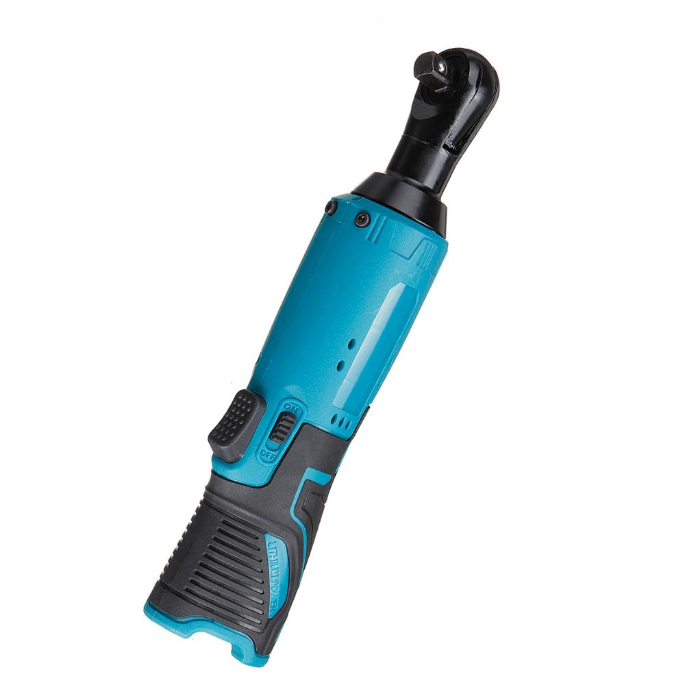 Wrench Tool Cordless Vintage RechargeableRatchet  Battery For Right 90N 8inch Makita m Angle Scaffolding 3 12V Electric Wrench