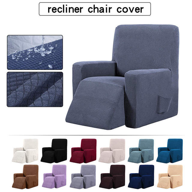 Waterproof Elastic Recliner Chair Cover All inclusive Massage Sofa Couch Cover
