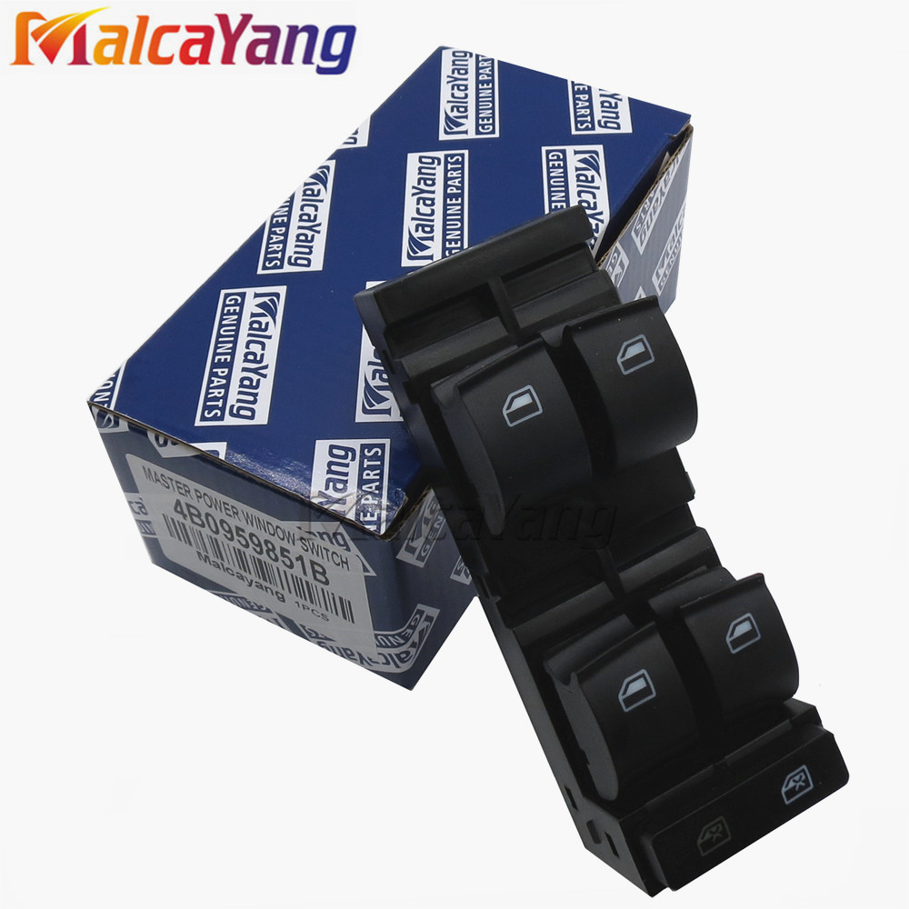 4B0959851B Electric Power Window Master Switch For Audi A3 A6 Avant Saloon 4B2  C5 S6 RS6 Allroad