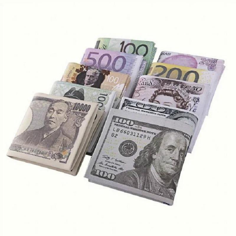 Новинка 2019, зажим для денег для мужчин и женщин, бумажный кошелек в европейском стиле для долларов, тонкий мини-кошелек в 2 складках, дешевый ...