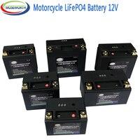 Batteria moto 12V LiFePO4 agli ioni di Litio Fosfato con BMS Protezione di Tensione Per BMW,Halley, Augusta,KTM,Honda,Suzuki,Yamaha