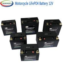 Batterie de moto 12V LiFePO4 Lithium Phosphate ion avec Protection de tension BMS pour BMW,Halley, Augusta,KTM,Honda,Suzuki,Yamaha