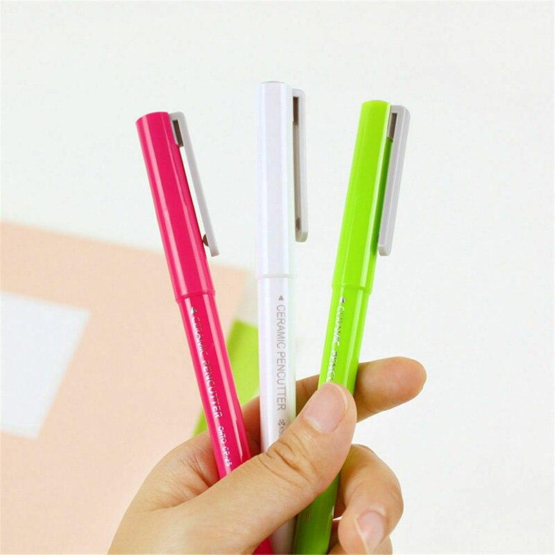 Ceramic Paper Cutter Pen Cutter Utility Cutters For Crafts Notebook DIY Multifunctional Hi 888