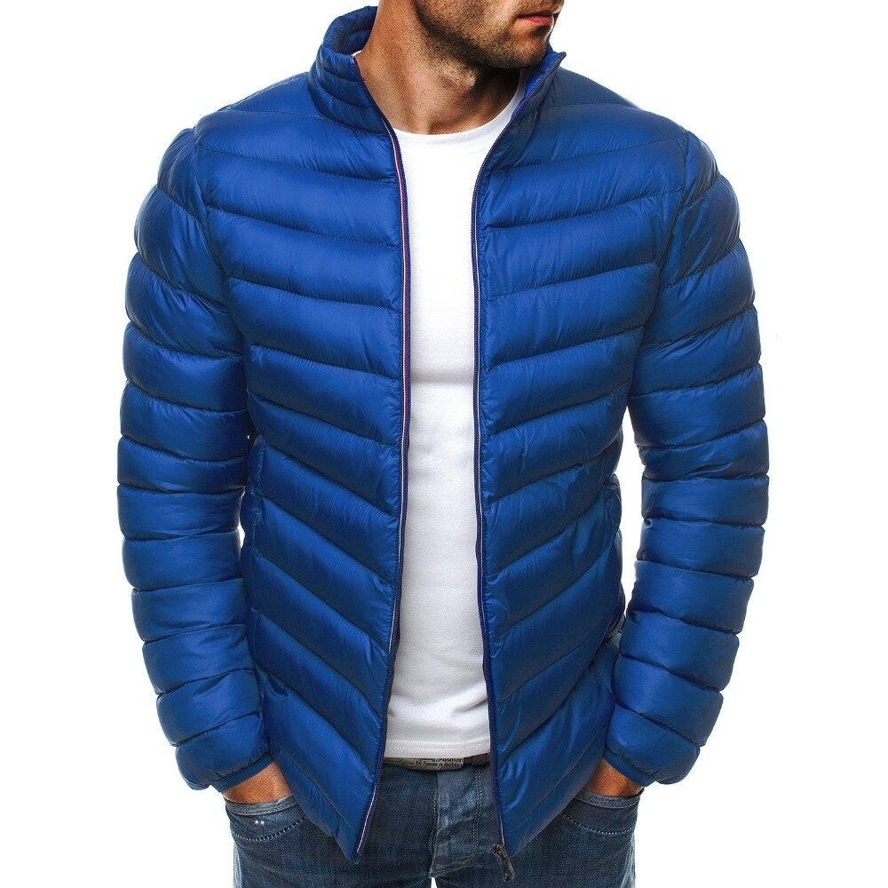 Zogaa jaqueta masculina de inverno moderna, quente,