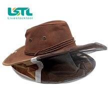 Chapeau de Cowboy pour apiculteur, casquette de protection pour apiculteur, filet anti-insectes, Design confortable