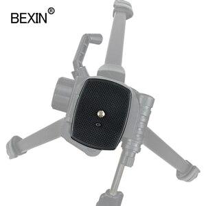 Image 4 - Lustrzanka cyfrowa plastikowa uchwyt adaptera statyw kamery głowica płyta szybkiego uwalniania kamera płyta podstawowa do trójwymiarowej głowicy statywu