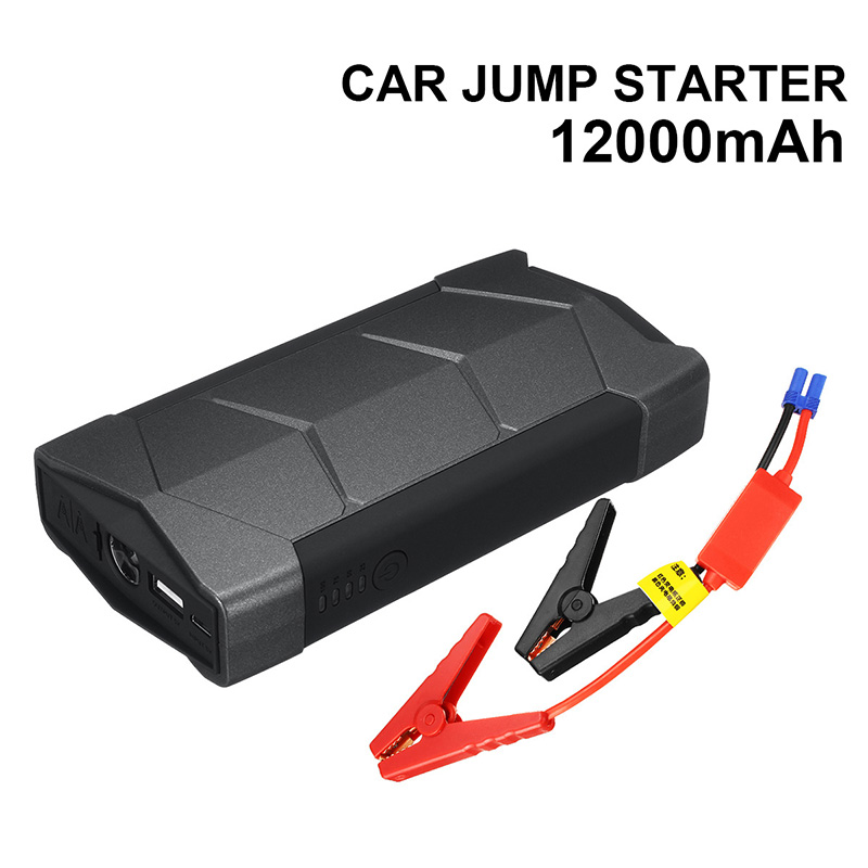 Mini Portable 12V <font><b>800A</b></font> Car <font><b>Jump</b></font> <font><b>Starter</b></font> Portable Battery USB Charger Emergency Power Bank SOS LED For Starting Device For Auto image