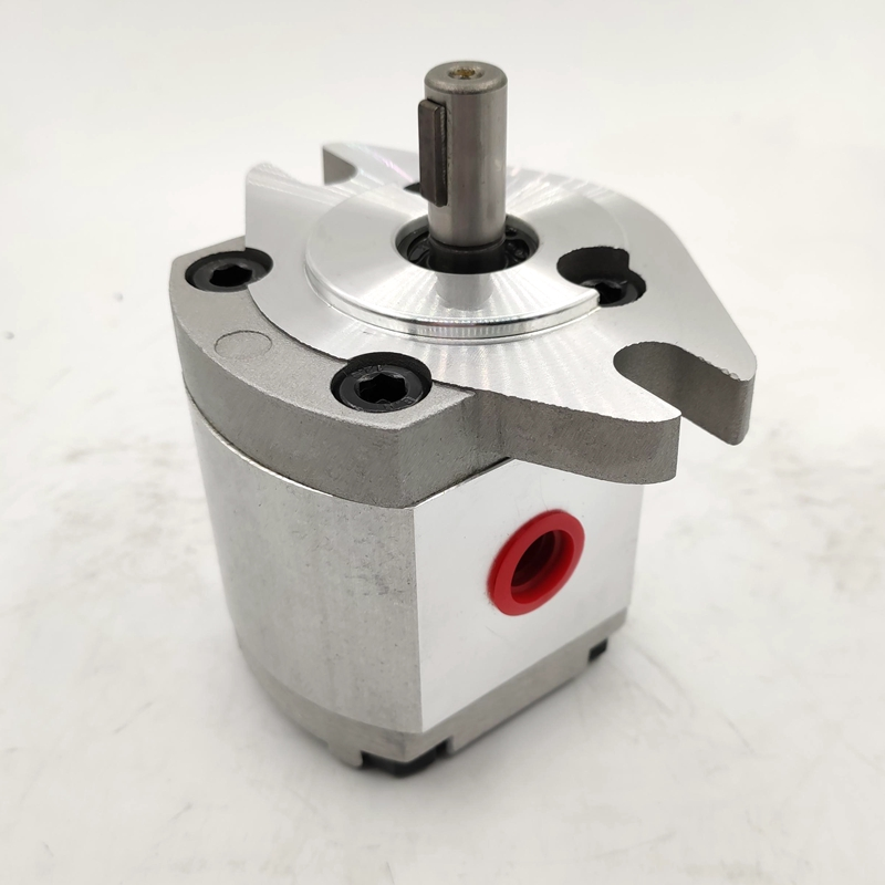 Hydraulic gear pumps HGP-1A-F6R HGP-1A-F8R high pressure oil pump for oil transfer HYDROMAX manufacturers aluminium alloy