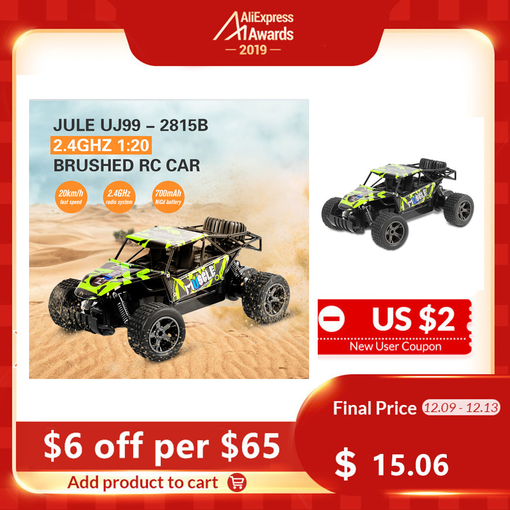 20km/h Jule 1:20 RC Car Racing High Speed Truck Climbing 2.4G Remote Control Drift Off Road Drift Car Outdoor Toy Dropshipping