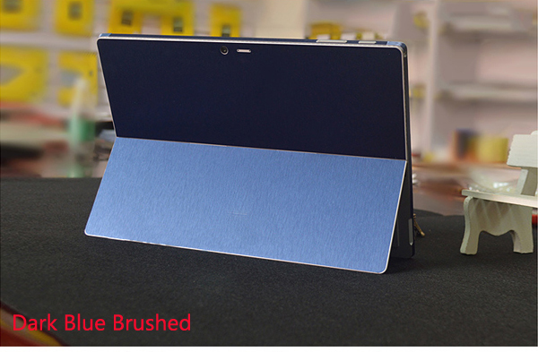 Blue Brushed Gold 1PCS Carbon fiber Laptop Sticker Decal Skin Cover Protector for Apple iPad Pro 12 9 A2229