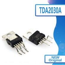 10 pçs/lote novo estoque tda2030 tda2030a áudio circuito amplificador de potência