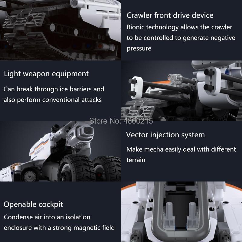 Xiaomi XJXL01IQI Volans Flying Fish Shuttle Crawler Car
