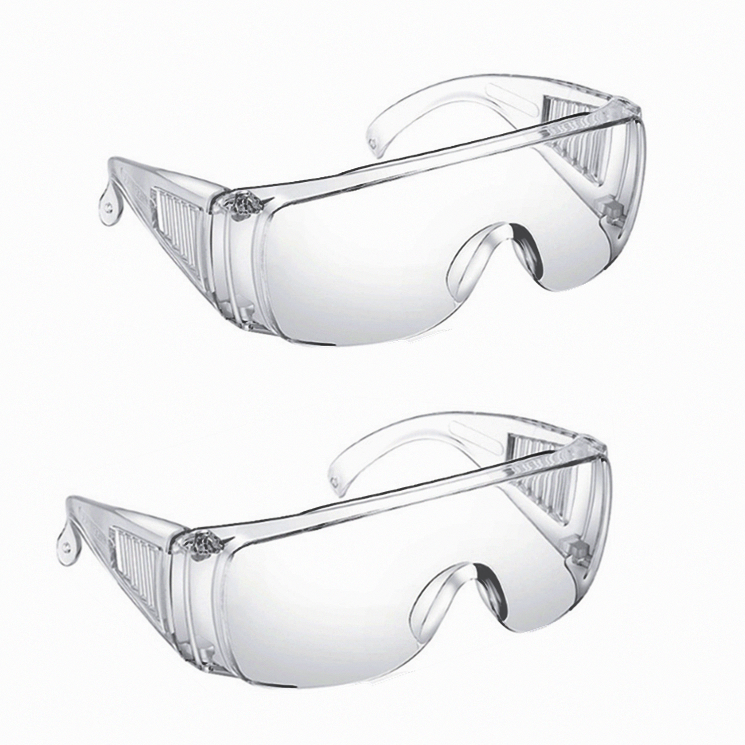 Safety Goggles Glasses Transparent Dust-Proof Glasses Workplace Lab Dental Eyewear Splash Eye Protection Anti-wind Glasses