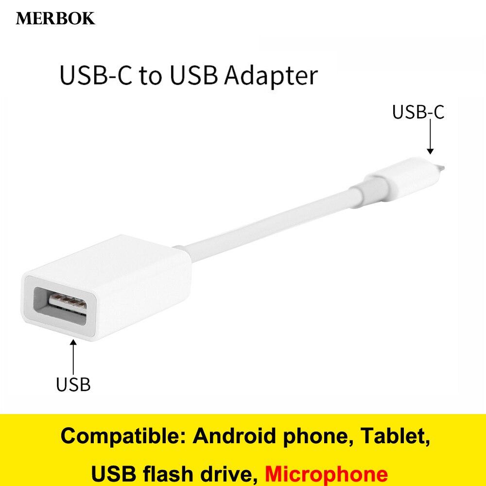 USB-C/Type-C To USB OTG Connector Digital Camera Adapter USB Flash Drive Converter For IPad Pro Macbook Pro Galaxy A10s A10e A8