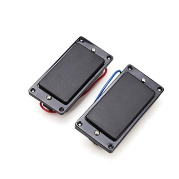 2pcs Chrome Double Coil Humbucker Pickups Neck & Bridge For LP Electric Guitar Pickups Professional Guitar Accessories electric guitar new lp custom shop electric guitar black beaty 3 pickups ebony fingerboard oem brand guitar in china