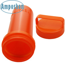 2 PCS High Quality Orange PE Repair Kit Container Bucket for Kayak Fishing Inflatable Boat Accessories Marine Kayak Accessories
