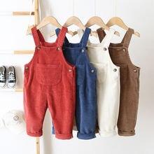 Джинсовые комбинезоны для маленьких девочек; Модная одежда;