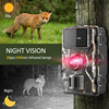 Wildlife Hunting Camera Trail Game 12MP1080P Motion Activated Security IP66 Night Vision Scouting Cameras 16GB 32GB Waterproof 1
