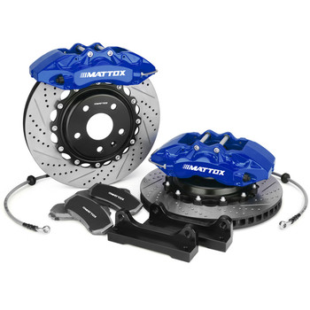 Mattox Car Big Brake 6pots Caliper Brake with 380*34mm 345*28mm Disc Rotors for Lexus GS350 450h 2012 Front Rear 18-19inch