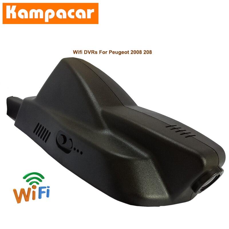 HOT SALE] Kampacar Car Wifi DVR Dash Cameras Dual Lens Car