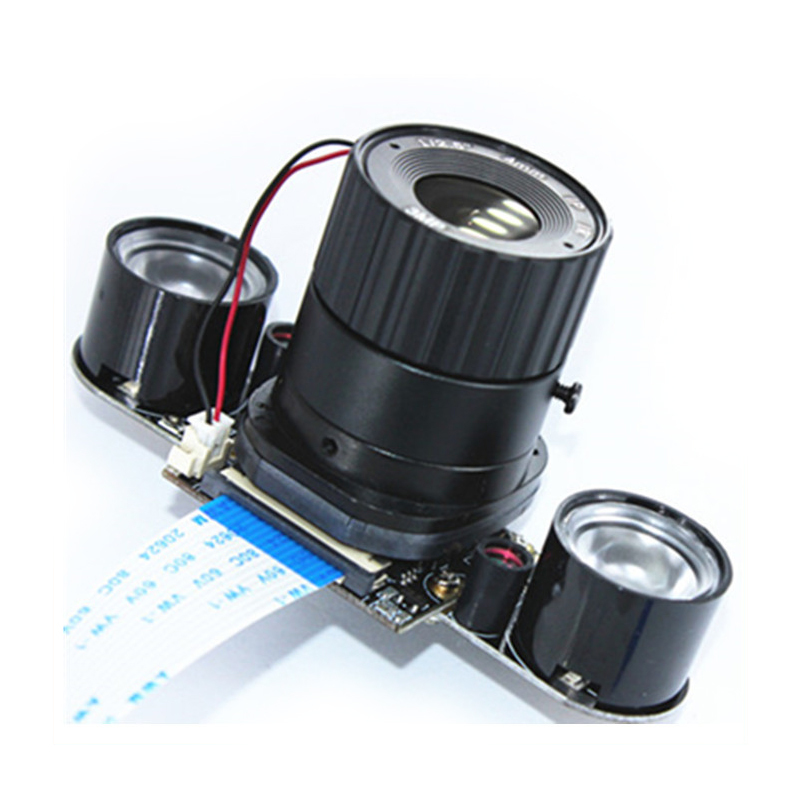 Raspberry Pi 3 B+ 5mp Camera Ir-cut 5mp 4 6 8 Mm Focal Adjustable Length Night Vision Noir Camera For Raspberry Pi 3 Model B+