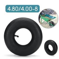 4,80/4,00-8 Пневматическое колесо, внутренняя трубка, резиновое изогнутое/прямое колесо, внутренняя трубка для шин на колесиках 2,50x8 дюймов