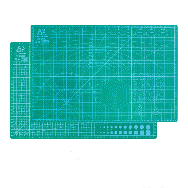 A3 A PVC Cutting Pad Double-sided Single-sided Splicing Cutting Board Fabric Leather Technology DIY Cutting Pad