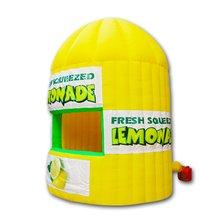 Бесплатная доставка Горячая надувная lemonade киоск для бесплатной