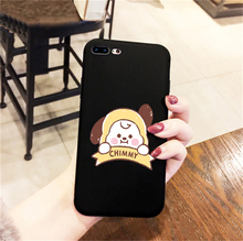 BTS BT21 Black IPhone Case (22 Models)