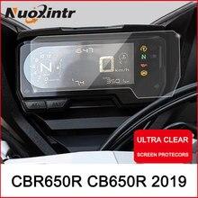 Nxuointr мотоциклетный кластер Защита от царапин пленка приборная панель Крышка ЗАЩИТА ТПУ Blu-Ray для HONDA CBR650R CB650R