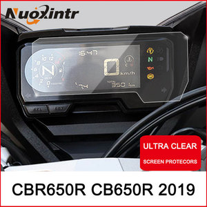 Nxuointr Motorcycle Cluster Scratch Protection Film Instrument Dashboard Cover Guard TPU Blu-ray for HONDA CBR650R CB650R 2019(China)