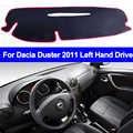 Car Inner Dashboard Cover For Dacia Duster 2011 Left Hand Drive Dashmat Pad Dashboard Cover Carpet Dash Mat Cushion Anti-sun