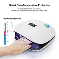 Professional Smart Phototherapy Machine UV LEd Nail Dryer Lamp Gel Polish Manicure Tool For Curing Nail Gel Polish Nail Machine