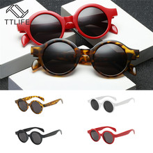 TTLIFE 2019 Vintage Round Sunglasses Women Brand Designer Female Glasses Retro Small Circle Eyewear UV400 Oculos