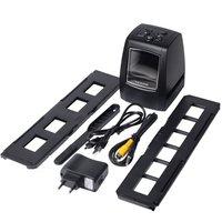 High Resolution Photo Scanner 35/135mm Slide Film Scanner Digital Film Converter 2.36LCD High Quality