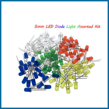 S ROBOT 5mm LED Diode Light Assorted DIY LED Set White Yellow Red Green Blue Electronic EC7 led costume led clothing light suits led robot suits kryoman robot david guetta robot size color customized