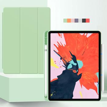 Dla iPad Pro 12 9 przypadku 2021 M1 Funda iPad Pro 11 przypadku 2020 iPad Air 4 przypadku iPad 8 generacji przypadku 10 2 9 7 10 5 piórnik tanie i dobre opinie HAIMAITONG Powłoka ochronna skóry 10 2 cala CN (pochodzenie) Stałe Dla apple ipad ipad pro 11 cali moda wodoodporne odporne na wstrząsy