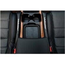 Для hyundai Veloster 2 шт. из искусственной кожи наполнители прокладка наполнитель слот заглушка сиденья автомобиля зазор Pad