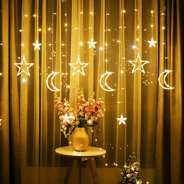 Светодиодные лампочки звездочки гирлянды светильник светодиоды