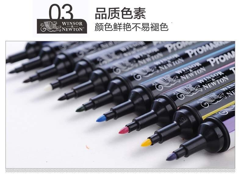 marcador 6 12 cor terno alcoólico escova