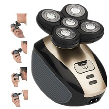 5 in14D Electric Razor for Bald Men Wet & Dry Electric Shaver