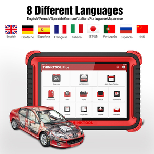 "Image 4 - ThinkCar Thinktool pros car tools 10"" Bi Directional obd2 diagnostic tool 28 reset key program ecu coding  x431 v plus Autel"