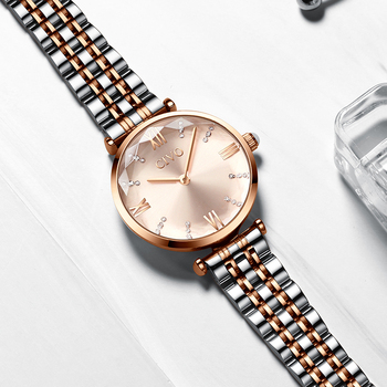 CIVO Luxury Crystal Watch Women Waterproof Rose Gold Steel Strap Ladies Wrist Watches Top Brand Bracelet Clock Relogio Feminino 5