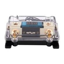 الثقيلة ANL فيوز 0/2/4 مقياس AWG ANL فيوز حامل مع 100 أمبير فيوز سيارة الصوت الصمامات