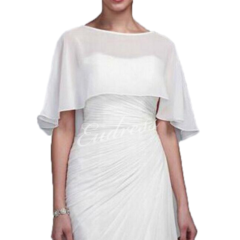 Ladies Chiffon Wedding Wraps Bridal Wraps Jackets Bolero Wedding Accessories Wraps For Evening Wedding Cover Up