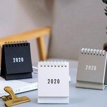 Coloffice свежий мини настольный календарь Корейский простой небольшой Note катушка Настольный календарь офисные школьные канцелярские принадлежности 1 шт